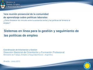 1era reunión presencial de la comunidad de aprendizaje sobre políticas laborales