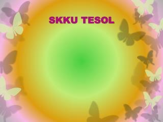 SKKU TESOL