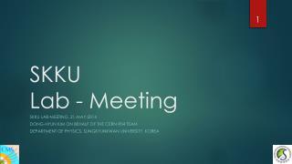 SKKU Lab - Meeting
