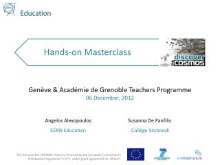 Hands-on Masterclass