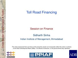 Toll Road Financing