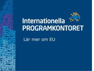 Lär mer om EU