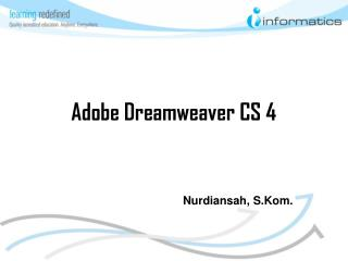 Adobe Dreamweaver CS 4