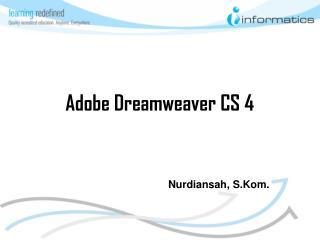 Adobe Dreamweaver CS 4