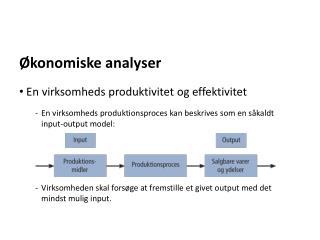Økonomiske analyser