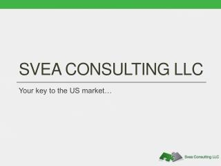 SVEA CONSULTING LLC