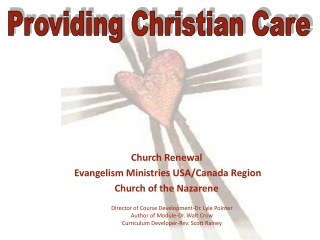 Christian Care Giving