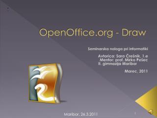OpenOffice  - Draw