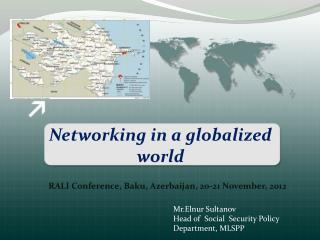 Networking in a globalized world