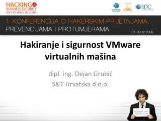 Hakiranje i sigurnost VMware virtualnih mašina