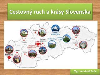 Cestovný ruch a krásy Slovenska