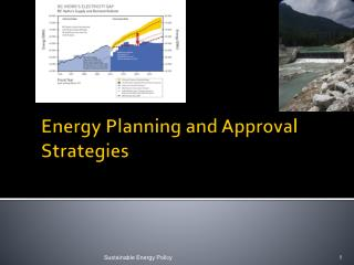 Energy Planning and Approval Strategies