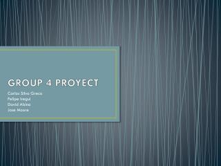 GROUP 4 PROYECT