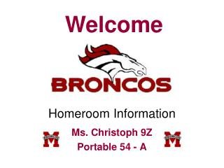 Homeroom Information