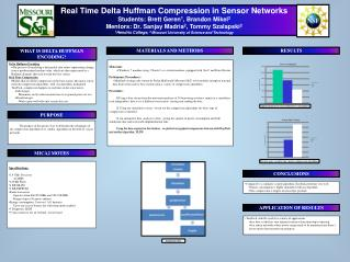 Real Time Delta Huffman Compression in Sensor Networks