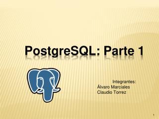 PostgreSQL: Parte 1
