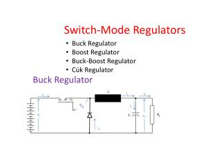 Switch- Mode Regulators
