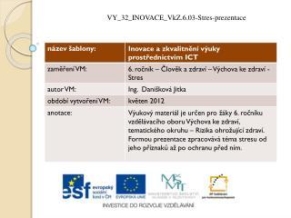 VY_32_INOVACE_VkZ.6.03-Stres-prezentace