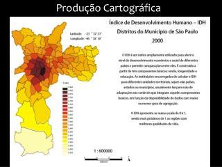 Produção Cartográfica