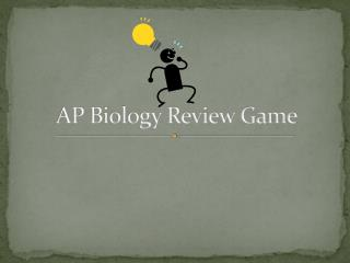 AP Biology Review Game