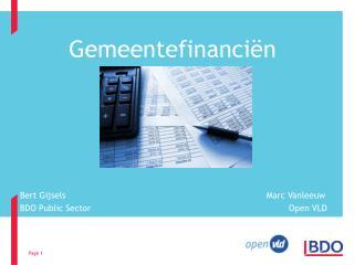 Gemeentefinanciën