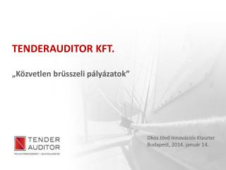 TENDERAUDITOR KFT.