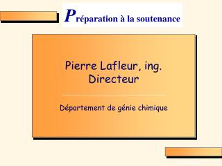 Pr paration   la soutenance
