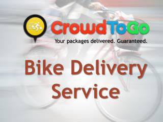 Crowd to Go : Bike Delivery Service