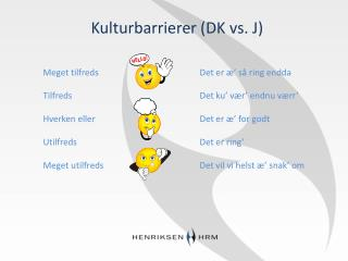Kulturbarrierer (DK vs. J)