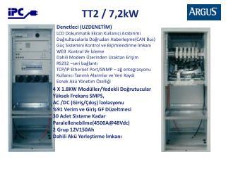 TT2 / 7,2kW