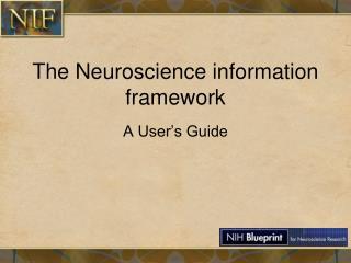 The Neuroscience information framework