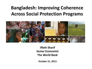 Bangladesh: Improving Coherence Across Social Protection Programs