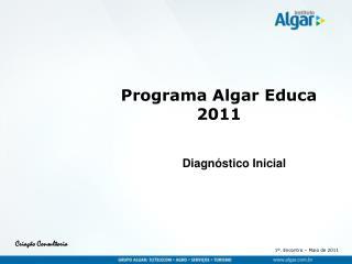 Programa Algar Educa 2011