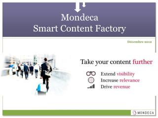 Mondeca Smart Content Factory