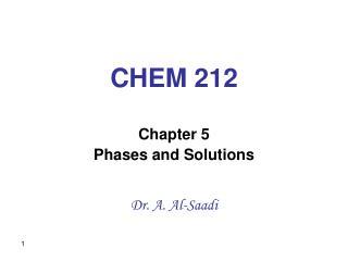 CHEM 212