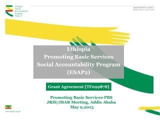 Ethiopia Promoting Basic Services Social Accountability Program (ESAP2)