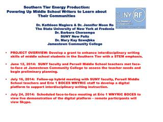 Southern  Tier Energy  Production: