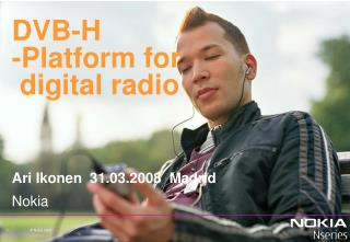 DVB-H -Platform for   digital radio