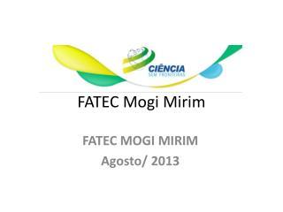 FATEC Mogi Mirim