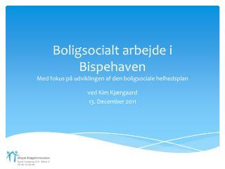 Boligsocialt arbejde i Bispehaven Med fokus på udviklingen af den boligsociale helhedsplan