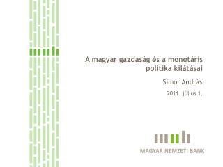 A monetáris politikai döntéshozatal szempontjai