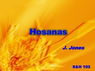 Hosanas
