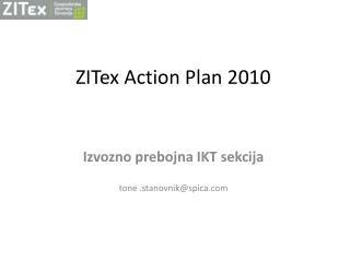 ZITex Action  Plan 2010