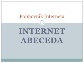 Pojmovnik Interneta