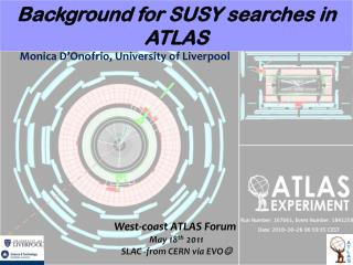 Background for SUSY searches in ATLAS