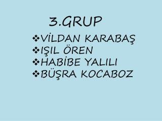 3.GRUP