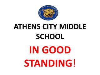 ATHENS CITY MIDDLE SCHOOL
