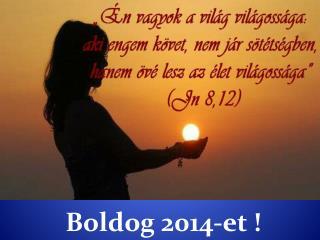 Boldog 2014-et !