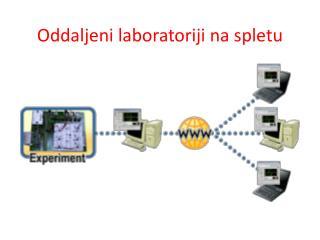 Oddaljeni laboratoriji na spletu