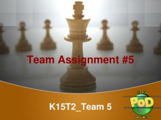 Team Assignment #5